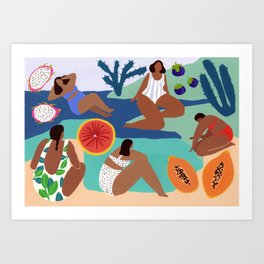 Fruity Bay Art Print