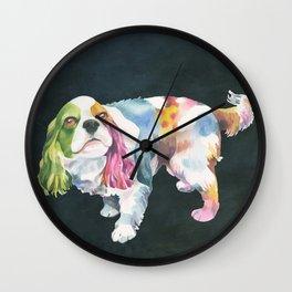 Cavalier King Charles Spaniel Wall Clock