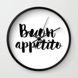Buon Appetito Wall Clock