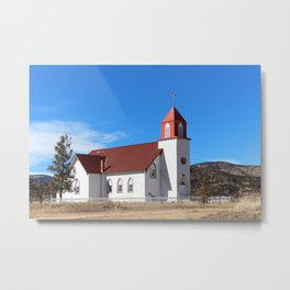 La Garita Church Metal Print