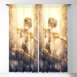 Mikasa Ackerman Blackout Curtain