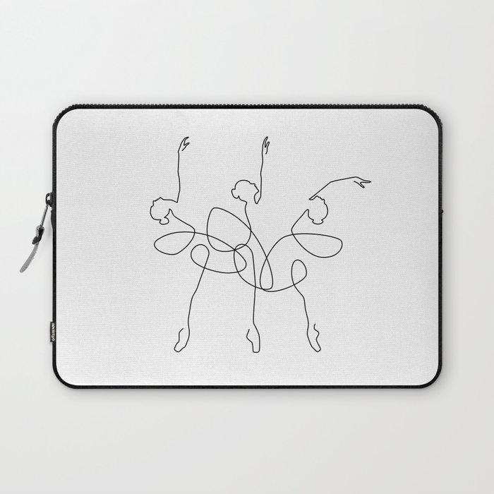 Ballet x 3 Laptop Sleeve