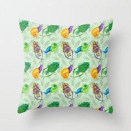 Bugs Pattern Throw Pillow