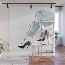 Shoe Dreams Wall Mural