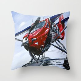 Captain Canada Throw Pillow