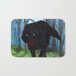 The Big Bad Wolf Bath Mat