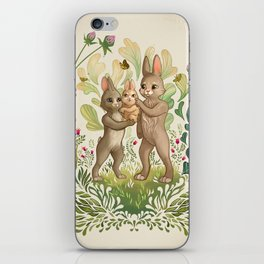 Lapins iPhone Skin