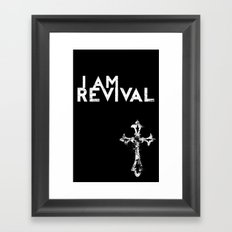 I Am Revival Framed Art Print