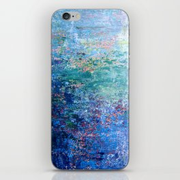 Blue Noise iPhone Skin