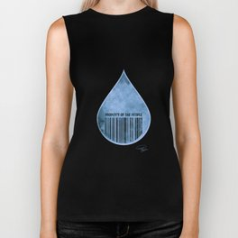 Water : Property of the People 2 Biker Tank