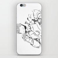 tony stark iPhone & iPod Skins featuring Iron Man (Tony Stark) by  Steve Wade ( Swade)