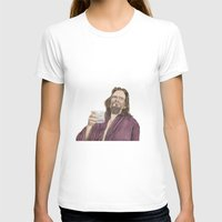 "lebowski T-shirts featuring Jeffrey ""the Dude"" Lebowski by NorthLight"