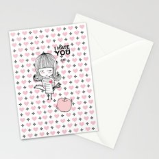 I Hate You / Guglielmo Tell Stationery Cards