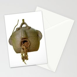 mouth full of nest Stationery Cards
