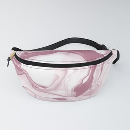 Pink marble pattern design Fanny Pack