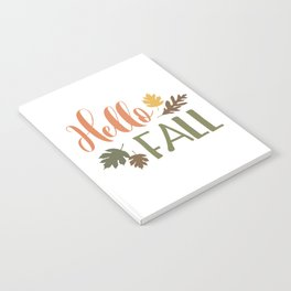 Hello Fall Notebook