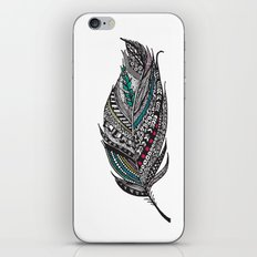 Single Aztec Feather  iPhone & iPod Skin