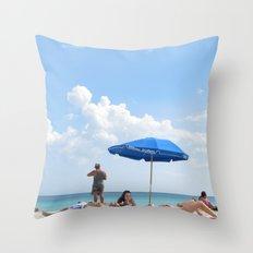 Beachin' Throw Pillow