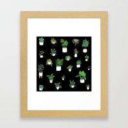 House Plants Framed Art Print