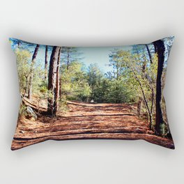 The Parting of Ways in Prescott National Forest Rectangular Pillow