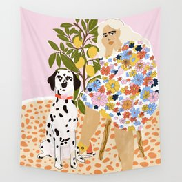 The Chaotic Life Wall Tapestry