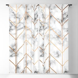 Marble Geometry 057 Blackout Curtain