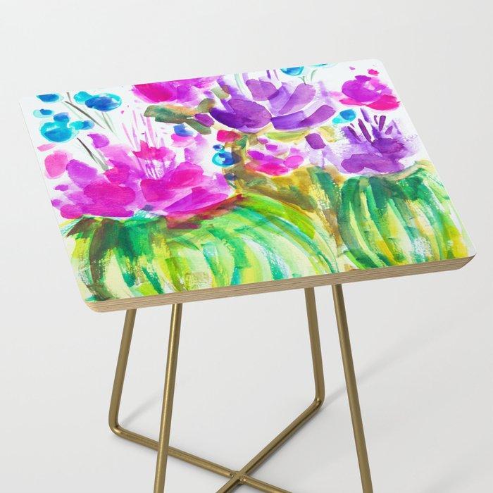 Flowerista Cactus Side Table