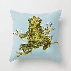 Little frog Throw Pillow