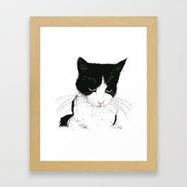 Curie Framed Art Print