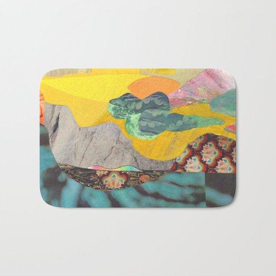 Yellow Sky Bath Mat