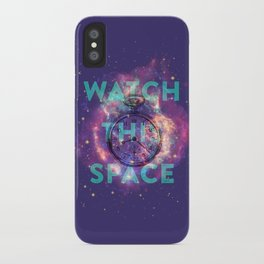 Watch this space iPhone Case
