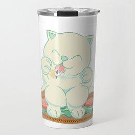 veggies cat Travel Mug
