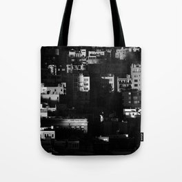 Chiaroscuro Morning Tote Bag