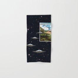 Ctrl+Alt+Del // Returning UFOs Hand & Bath Towel