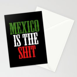 Mexican Is The Shit Cinco De Mayo Design Stationery Cards