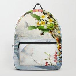 Abundance Of Beauty - Sapphire Blue Ocean Backpack