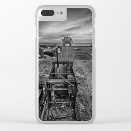 Winched Fishing Boats Clear iPhone Case