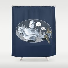 The Giant & Groot Shower Curtain