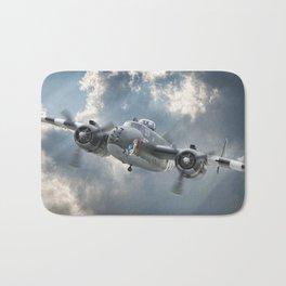 """""""Hot Gen""""  B-25 Mitchell Bath Mat"""