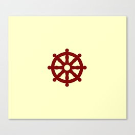 Dharmachakra 4 Canvas Print
