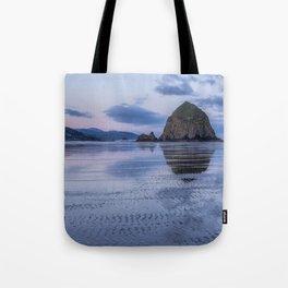 Daybreak at Haystack Rock Tote Bag