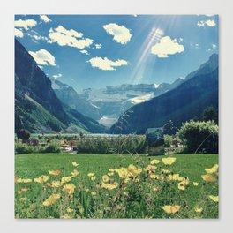 Lake Louise Dream Canvas Print