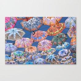 Umbrella Canopy 2 Canvas Print