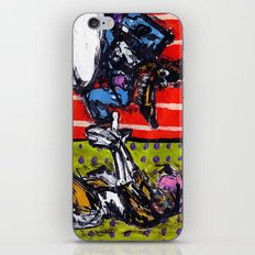 The Dame And The Wolf iPhone & iPod Skin