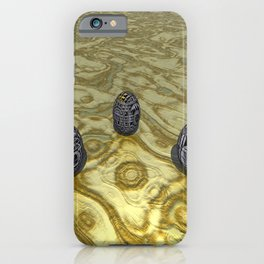 Iron in the Sand iPhone Case