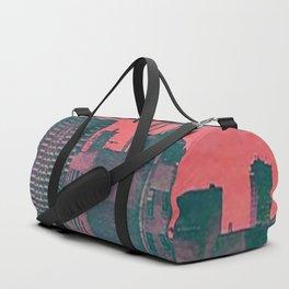 Cartoon City Duffle Bag