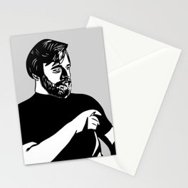 Stephen Sondheim Smoking Stationery Cards
