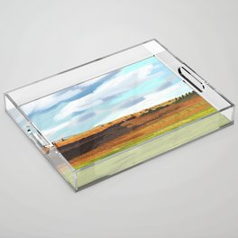 Farming Plain Acrylic Tray