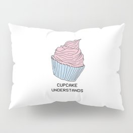 Raining Cupcakes Pillow Sham