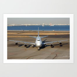 All Nippon Airways - ANA Art Print